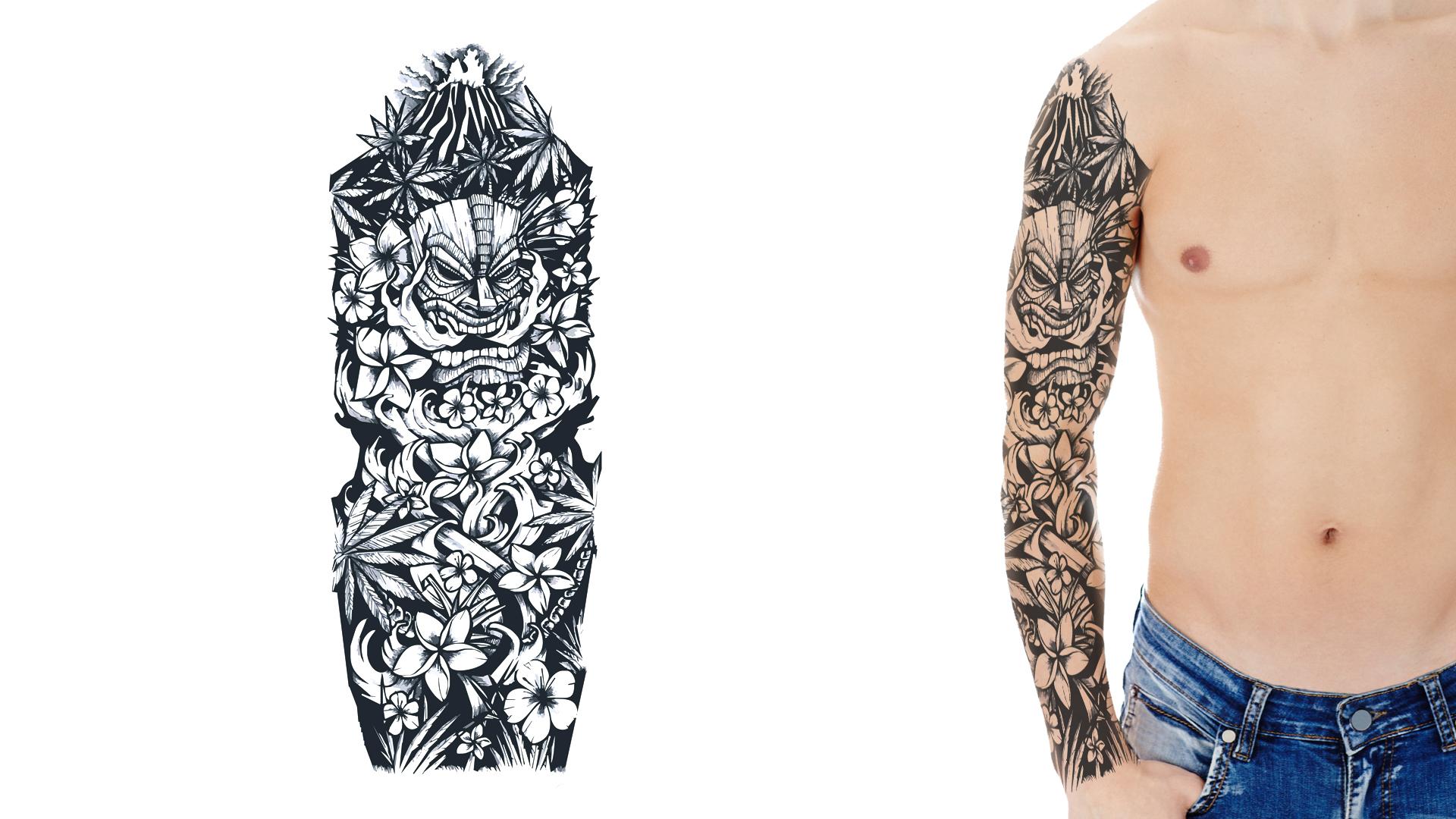 28 how to design full sleeve tattoo design a sleeve tattoo cool tattoos bonbaden tattoos. Black Bedroom Furniture Sets. Home Design Ideas
